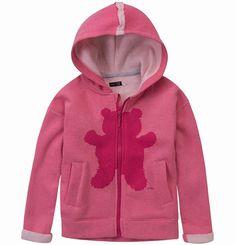 """Melanżowa, ocieplana bluza dla dziewczynki. Kolekcja: """"Z głową w chmurach"""" Hoodies, Girls, Sweaters, Fashion, Simple Lines, Toddler Girls, Moda, Sweatshirts, Daughters"""