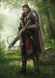 m Fighter Plate Armor Cloak Crossbow Sword deciduous forest hills ArtStation - Divinity Original Sin 2 Main Characters, Dan Iorgulescu Fantasy Male, Fantasy Armor, Medieval Fantasy, Dark Fantasy, Dungeons And Dragons Characters, Fantasy Characters, Fantasy Character Design, Character Art, Fantasy Inspiration