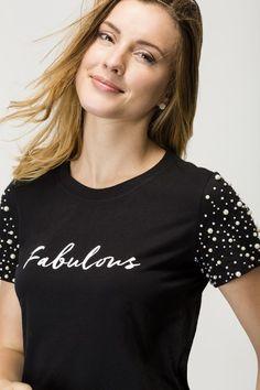 Camiseta Fabulous Diy Fashion, Fashion Outfits, Womens Fashion, T Shirt Diy, Cute Summer Outfits, Diy Clothing, Refashion, Blouse Designs, Shirt Style
