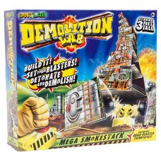 Smart Lab Toys Demolition Lab Mega Smokestacks Science Experiment Kit