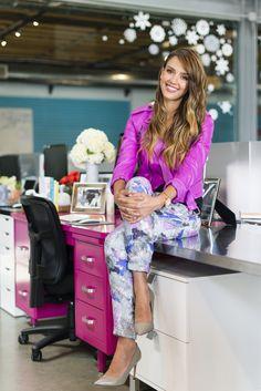 Style Secrets from Jessica Alba