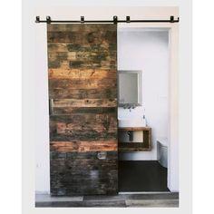 Redolab | PORTA SCORREVOLE BY REDOLAB Curtains, Shower, Bathroom, Prints, Rain Shower Heads, Washroom, Blinds, Full Bath, Showers