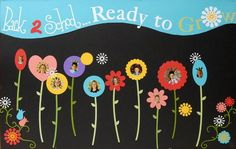 Ready to Grow bulletin board display at the beginning of the year.