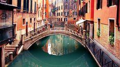 Beautiful Bridge in Venice in Italy