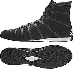 low priced ad011 3a8a9 adidas Shoe adizero Boxing, black grey, 3.5, S77949