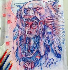 Amazing sketches works by artists Derek Turcotte Instagram.com/drkturcotte Very-art.net