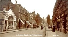 Richmond Road East Twickenham London Old London, Local History, Street View, Squares