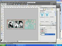 how to make a blog banner in photoshop elements