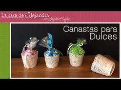 La casa de Alejandra: Fáciles y Lindas Canastas para Dulces DIY Alejandra Coghlan