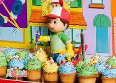 Handy Mandy Birthday Party Cumpleaños