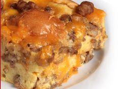 Sausage - Egg Bake Recipe | Just A Pinch Recipes