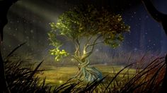 mystical woodland trees | 40 Best & Amazing 3D Animated HD Wallpapers - TechBlogStop