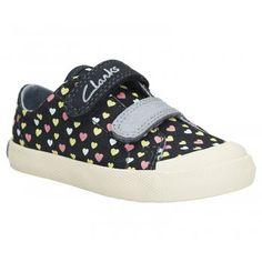 2c3bdd4439b Clarks Girl s Halcy Rae First Shoe