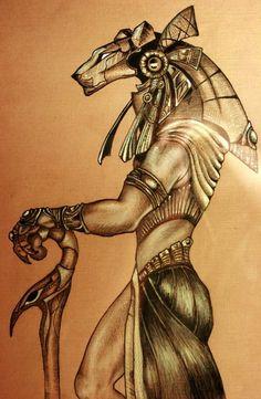 Stargate Sekhmet guard by ~Snake-Obsidian on deviantART