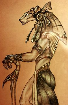 Stargate Sekhmet guard by ~Snake-Obsidian on deviantART