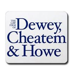 Shyster Quotes | Dewey, Cheatem and Howe - Mousepad