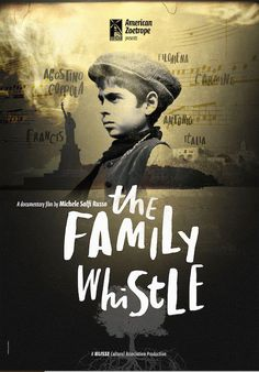 The Family Whistle by Michele Russo. #Cannes2016 Cannes Classics.  Poster.