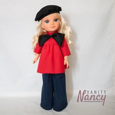 Nancy Doll, Vintage, Style, Fashion, Templates, Learn To Sew, Hair Bows, Outfits, Celebrity