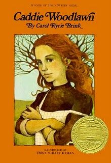 Caddie Woodlawn by Carol Ryrie Brink. Call Number: J FIC BRINK. The adventures of an eleven-year-old tomboy growing up on the Wisconsin frontier in the mid-nineteenth century. Newbery Award, Newbery Medal, Ya Books, Great Books, Award Winning Books, American Literature, We Are The World, Chapter Books, Book Girl