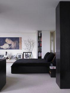 :: BEDROOMS :: love the design sensibilities of Donna Karen's home in Manhattan