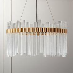 Acrylic Chandelier, Gold Chandelier, Modern Chandelier, Contemporary Dining Room Lighting, Dining Chandelier, Decorative Lighting, Modern Lighting, Chandeliers, Art Deco Pendant Light
