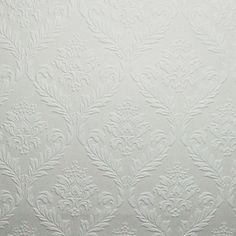 Buy the Graham and Brown 19038 N/A Direct. Shop for the Graham and Brown 19038 N/A 56 Square Foot - Medium Damask - Non-Pasted Vinyl Wallpaper and save. Pure White Wallpaper, Grey Damask Wallpaper, Paintable Textured Wallpaper, Cheap Wallpaper, Vinyl Wallpaper, Pattern Wallpaper, Wallpaper Ideas, Beauty And The Beast Costume, Discount Wallpaper
