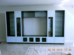 White Entertainment Center @Contempo Space