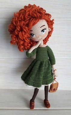 Handicraft and Cute Amigurumi Doll Pattern Ideas Part amigurumi doll patterns; Crochet Eyes, Cute Crochet, Crochet Crafts, Crochet Baby, Crochet Projects, Knit Crochet, Crochet Dolls Free Patterns, Crochet Doll Pattern, Amigurumi Patterns
