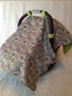 26f0a09e87 SALE PRICE Car Seat Cover - Infant Car Seat - Baby Girl Fabrics on Etsy
