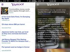 Yahoo App Update Shows Fruits of Summly Acquisition