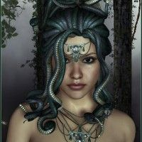 Medusa Bundle in Vendor, Lady Littlefox,  3D Models by Daz 3D