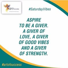 """Welcome to our insightful day, """"Saturday Vibes""""! AK Mishra's Art of Success will organize a training combining Art of Success for Aspirers and Human Relations to empower the participants with the finesse to fulfill their aspiration of having healthier and blissful relationships.  #artofsuccess #photooftheday #success #inspiration #guru #TakeChargeOfLife #motivational #instagram #quoteoftheday #love #selfie #happy #life #art #picoftheday #instagood #family #follow #followme #igers #smile"""