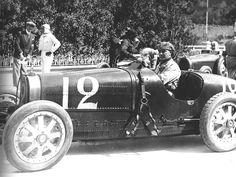 1929 Monaco GP Williams Bugatti 35b