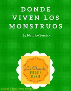 Donde viven los monstruos- Preterite Book Activities