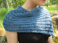 free patterns for knitting shawls - Google Search