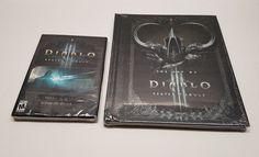 THE ART OF DIABLO III REAPER OF SOULS HARDBACK BOOK(NEW)+Diablos Collectors Dvd!