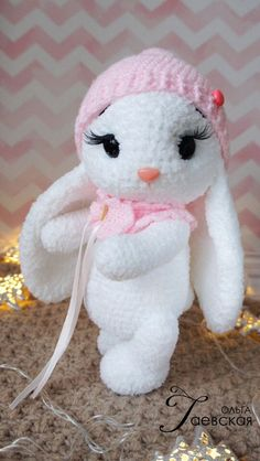 44 awesome crochet amigurumi patterns for you kids for 2019 part 4 amigurumi for beginners amigurumi for kids amigurumi animals Crochet pretty bunny amigurumi in dress – free pattern 63 free crochet bunny amigurumi patterns diy crafts – Artofit nose s Crochet Bunny Pattern, Crochet Amigurumi Free Patterns, Crochet Teddy, Easter Crochet, Easy Crochet Patterns, Cute Crochet, Crochet Designs, Crochet Crafts, Crochet Dolls