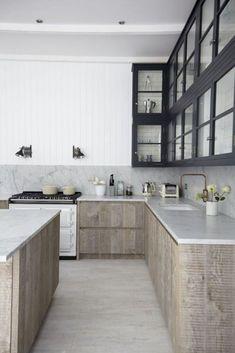 100+ Small Scandinavian Kitchen Design (3)