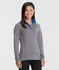 The Charles River Apparel 5666 Women's Fusion Pullover Long Sleeve Top is available in Women's Sizes XS-3XL. It can be purchased in your choice of the following colors: Black, Navy/Grey and Grey/Royal.