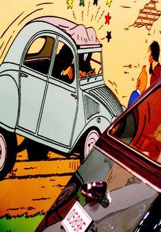 Tintin's cars