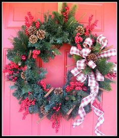 Luxury Christmas Wreaths - Luxury Winter Wreaths - Maplesville, AL