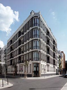 TEWAC and Müller + Reimann Architekten. Klassisch, könnte in London stehen. Ist aber Berlin