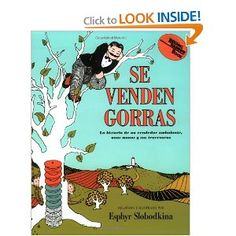 Caps for Sale (Spanish edition): Se venden gorras by Esphyr Slobodkkina (One-to-One Correspondence and Money)