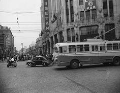 Shinjuku, Tokyo in 1950 Japan Train, Shinjuku Tokyo, Adirondack Park, Japan Landscape, Retro Pictures, Old Photography, Japan Photo, Vintage Japanese, Historical Photos