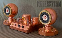 Mono and Stereo High-End Audio Magazine: Coppersteam SteamAmp II amplifier Audiophile