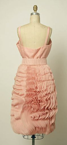 Evening Dress, Simonetta and Fabiani, Italian (made in France), silk, 1962-65