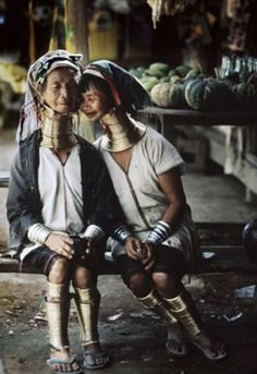 An image by Steve McCurry taken in 1994 in Myanmar of Kayan women with neck rings.  The life and spark in Steve's portraits are something that I aspire to.