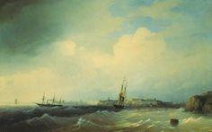 Свеаборг - 1844 год Айвазовский
