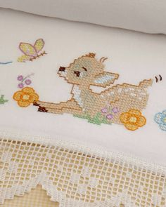 Butterfly Cross Stitch, Cute Cross Stitch, Beaded Cross Stitch, Cross Stitch Designs, Cross Stitch Embroidery, Cross Stitch Patterns, Baby Bedding Sets, Bargello, Baby Sewing