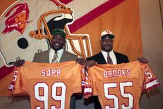 Warren Sap and Derrek Brooks - Tampa Bay Buccaneers Best Draft